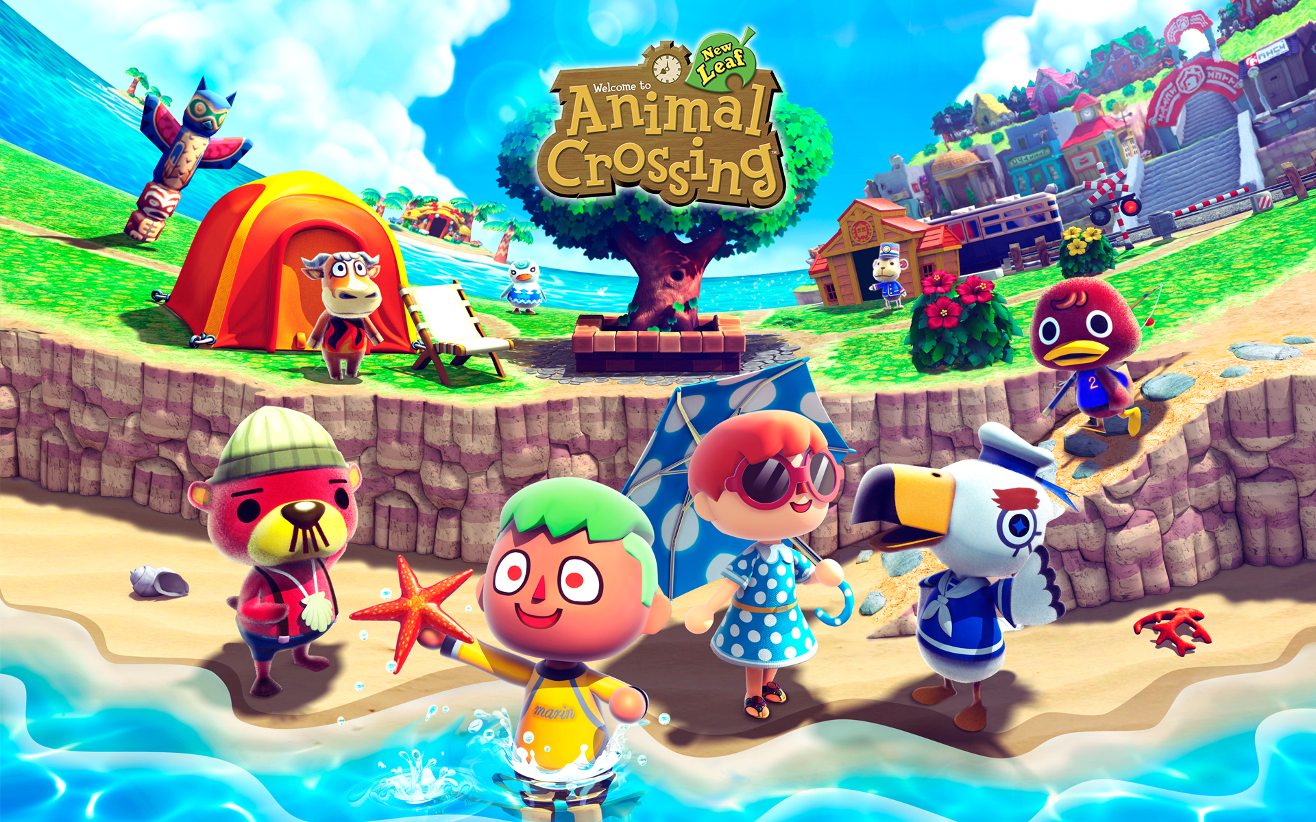 Shops in animal crossing new leaf maximum geekage for Where can i get wallpaper